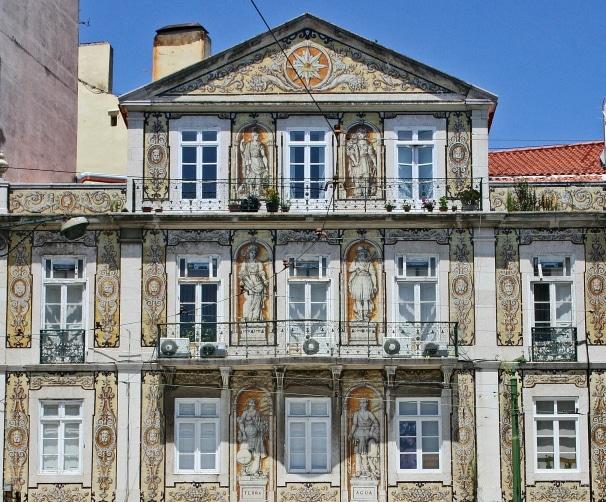 les plus jolies façades de lisbonne