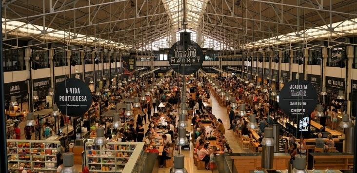 les marchés de lisbonne