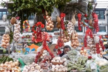 marchés traditionnels à lisbonne