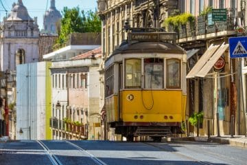 itinéraire tramway 28 lisbonne