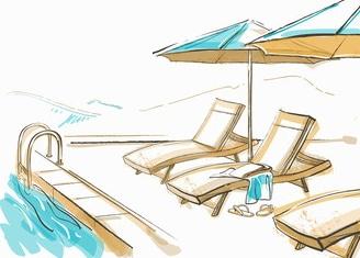 choisir un hôtel avec piscine