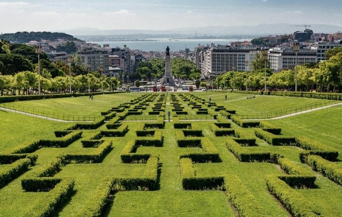 parc dans le centre le Lisbonne
