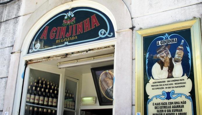 bar à ginja à lisbonne
