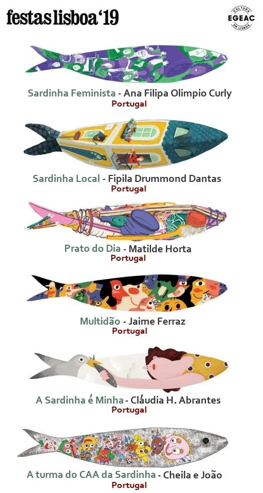 les sardines de lisbonne