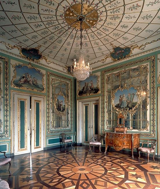 les salles du palais