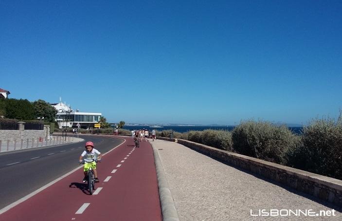 faire du vélo à Cascais