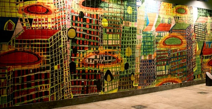métro parc des nations