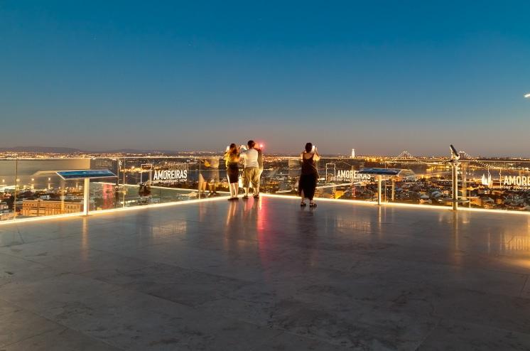 belvédère Amoreiras Lisbonne
