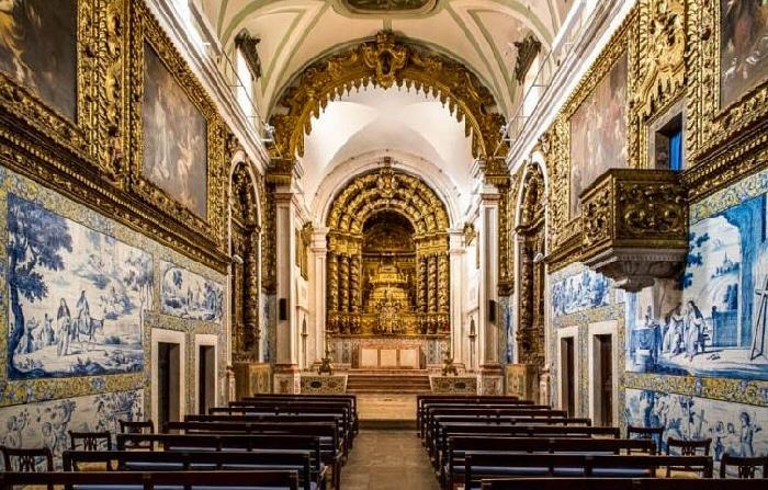 les azulejos dans les églises