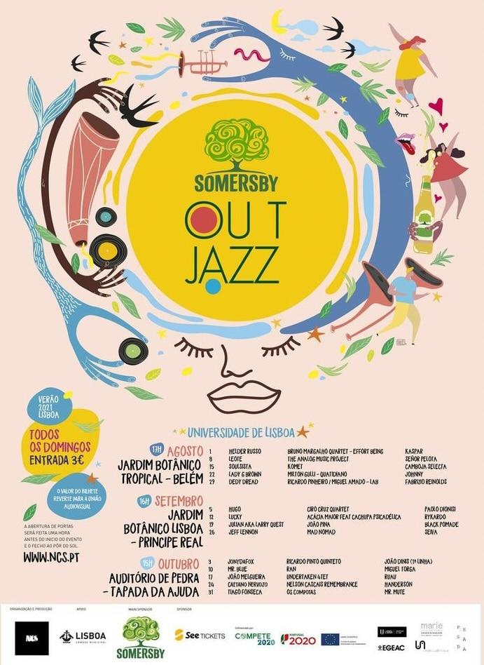 programme du festival Out Jazz 2021